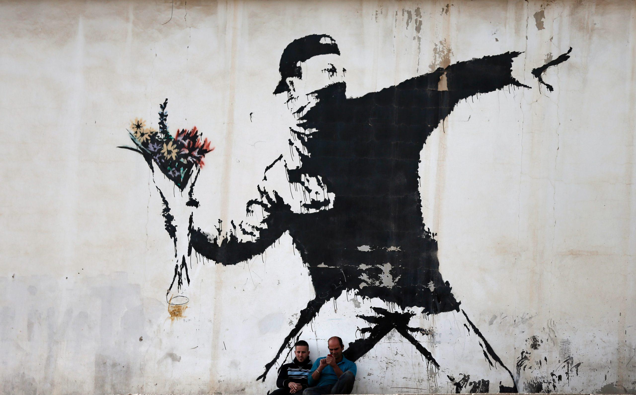 Banksy face